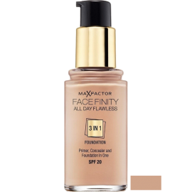 MAX FACTOR Face Finity All Day Flawless 3in1 Foundation Natural 50