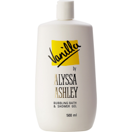 ALYSSA ASHLEY Vanilla Bubbling Bath & Shower Gel 500 ml