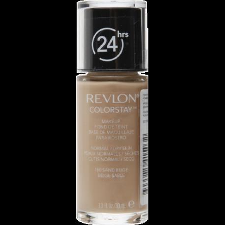 REVLON ColorStay Makeup per Pelli Normali/Secche Sand Beige 180