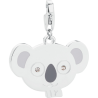 S'AGAPÕ Happy Charm in Acciaio Koala
