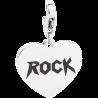 S'AGAPÕ Happy Charm in Acciaio Rock