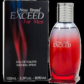 NEW BRAND Exceed For Men Eau de Toilette 100 ml