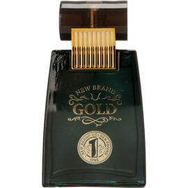 NEW BRAND Gold Eau de Toilette 100 ml