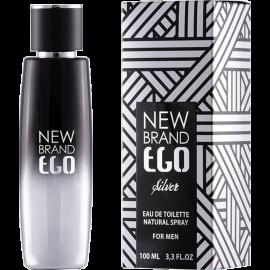 NEW BRAND Prestige Ego Silver Eau de Toilette 100 ml