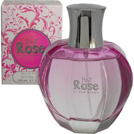 NEW BRAND Pink Rose Eau de Parfum 100 ml