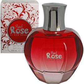 NEW BRAND Red Rose Eau de Parfum 100 ml