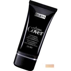 PUPA Extreme Cover Foundation Alabaster 010