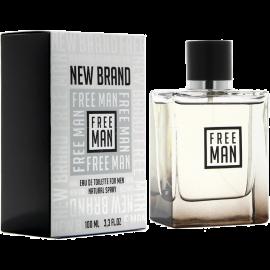 NEW BRAND Prestige Free Man Eau de Toilette 100 ml