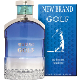 NEW BRAND Golf Eau de Toilette 100 ml