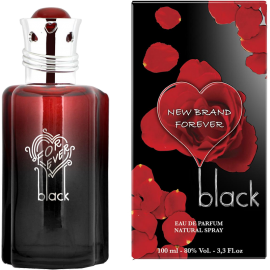 NEW BRAND Forever Black Eau de Parfum 100 ml