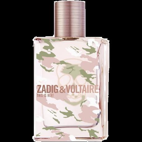 ZADIG & VOLTAIRE This Is Her! No Rules Eau de Parfum 50 ml