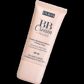 PUPA BB Cream + Primer Pelli Miste e Grasse 30 ml