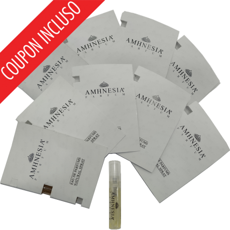 AMHNESIA Luxury & Privèe Collection Set 9 Samples x 1,5 ml
