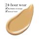 ELIZABETH ARDEN Flawless Finish Skincaring Foundation Medium Tan - Warm Peach 340W
