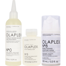 OLAPLEX The Bond Treatment System (No.0 155ml + No.3 100ml + No.8 100ml)