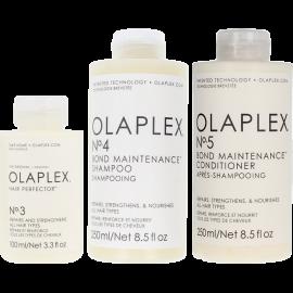 OLAPLEX Bond Maintenance System Kit (No.3 100ml + No.4 250ml + No.5 250ml)