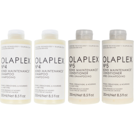 OLAPLEX Shampoo & Condition Bundle (2 x No.4 250ml + 2 x No.5 250ml)
