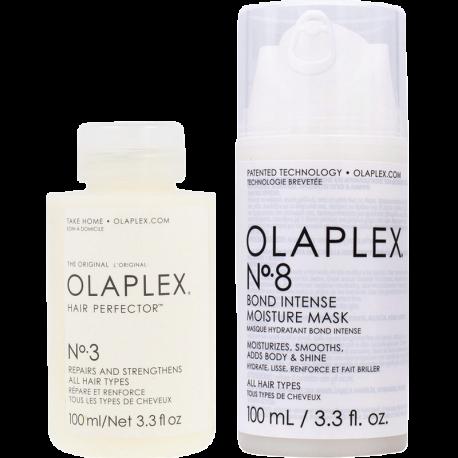 OLAPLEX Bond Treatment Duo (No.3 100ml + No.8 100ml)
