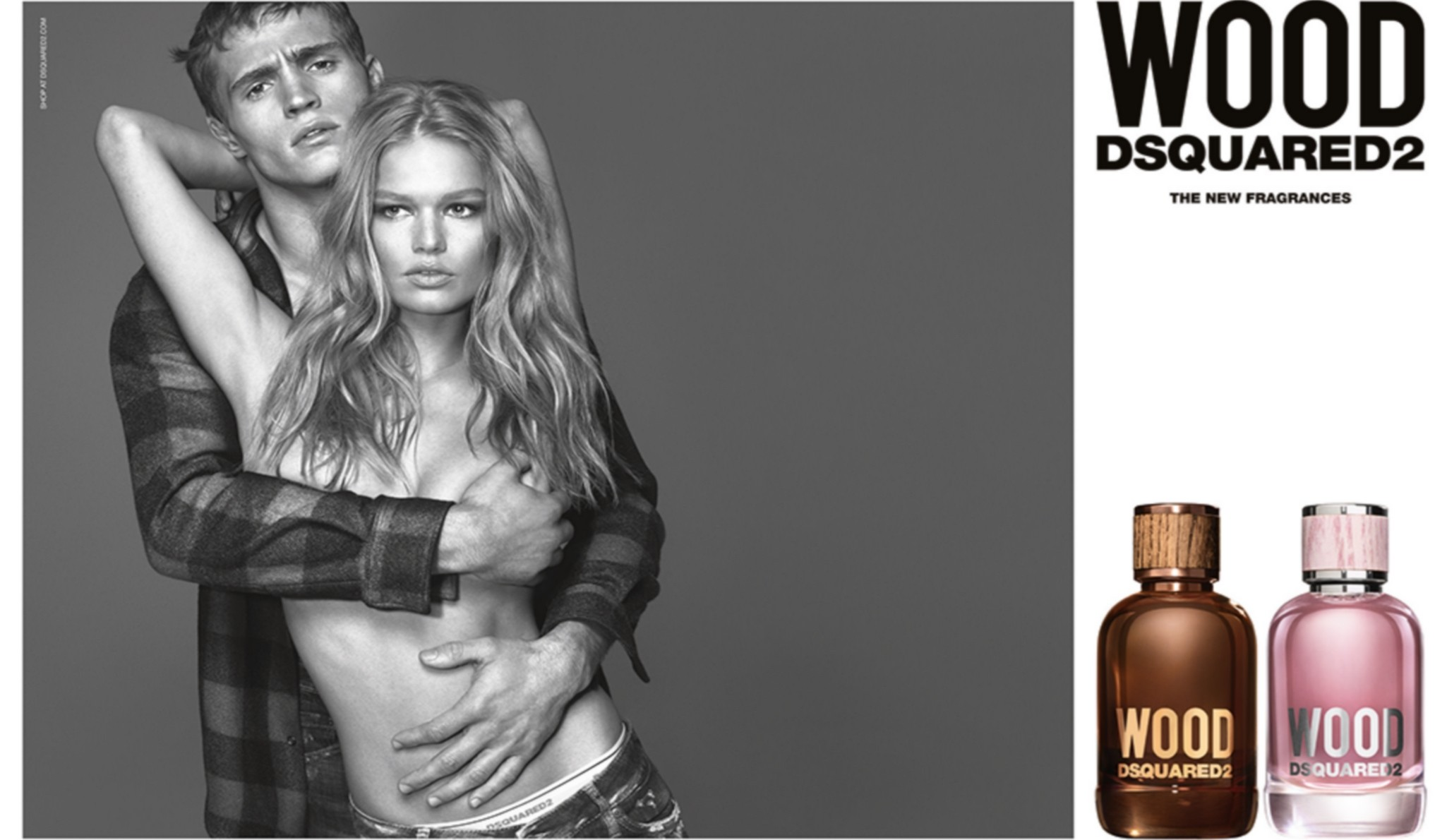 Vivi le tue passioni con Dsquared² Wood